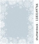 grey christmas background with... | Shutterstock .eps vector #1183149766