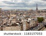 paris  france  may 16  2013... | Shutterstock . vector #1183157053