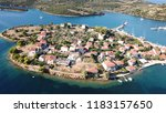 aerial drone photo of the one... | Shutterstock . vector #1183157650