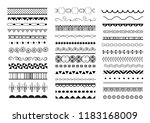 big vector set of seamless... | Shutterstock .eps vector #1183168009