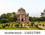 lodi gardens. islamic tomb ... | Shutterstock . vector #118317589