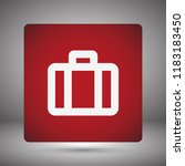 vector icon suitcase 10 eps