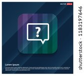 speech bubble icon   free... | Shutterstock .eps vector #1183197646
