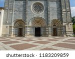the basilica of sant'andrea at...   Shutterstock . vector #1183209859