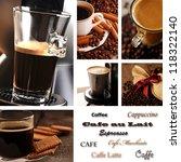 coffee collage   menu
