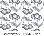 vector seamless pattern with... | Shutterstock .eps vector #1183236496