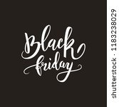black friday big sale...   Shutterstock .eps vector #1183238029