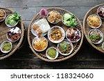 kantoke  traditionally meal set ... | Shutterstock . vector #118324060
