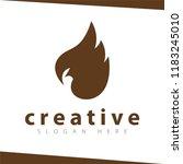 head parrot logo vector | Shutterstock .eps vector #1183245010