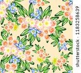 abstract elegance seamless... | Shutterstock . vector #1183258639