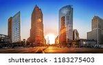 Potsdamer Platz At Sunset ...