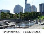 view of yokohama | Shutterstock . vector #1183289266