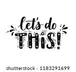 lets do this. vector... | Shutterstock .eps vector #1183291699