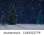 christmas card with winter...   Shutterstock . vector #1183322779
