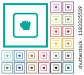grab object flat color icons... | Shutterstock .eps vector #1183325539
