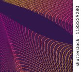 abstract communication network...   Shutterstock . vector #1183329280
