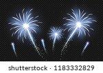 festive patterned fireworks in... | Shutterstock .eps vector #1183332829