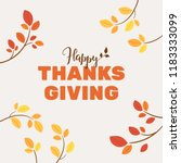 Happy Thanksgiving Typography...