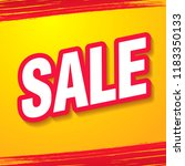 sale banner layout design ... | Shutterstock .eps vector #1183350133