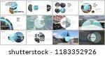minimal presentations design ... | Shutterstock .eps vector #1183352926