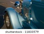 a classic blue hotrod reflects...   Shutterstock . vector #11833579