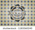 bookmark arabesque style badge. ...   Shutterstock .eps vector #1183360240