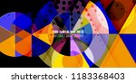abstract colorful background... | Shutterstock .eps vector #1183368403
