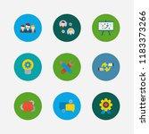 technology partnership icons...