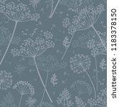 cow parsley texture repeat... | Shutterstock . vector #1183378150