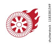 tire logo  emblems and insignia.... | Shutterstock .eps vector #1183381549