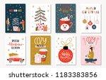 set of creative 8 journaling...   Shutterstock .eps vector #1183383856