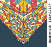 polygon style abstraction in... | Shutterstock .eps vector #1183412329