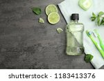 flat lay composition with... | Shutterstock . vector #1183413376