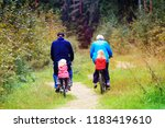 active senior grandparents with ... | Shutterstock . vector #1183419610