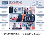 sexual assault and harassment... | Shutterstock .eps vector #1183425130