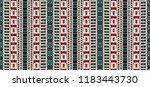 tribal vector ornament....   Shutterstock .eps vector #1183443730