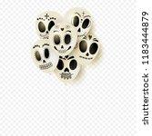 festive white balloons for day... | Shutterstock .eps vector #1183444879