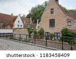 town bruges belgium | Shutterstock . vector #1183458409