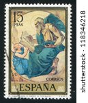 spain   circa 1974  stamp... | Shutterstock . vector #118346218