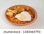majadito toasted with banana ... | Shutterstock . vector #1183464793