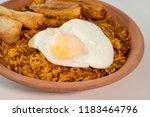 majadito toasted with banana ... | Shutterstock . vector #1183464796
