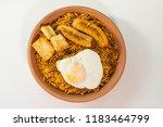 majadito toasted with banana ... | Shutterstock . vector #1183464799