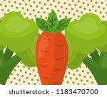 vegetables fresh natural | Shutterstock .eps vector #1183470700