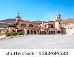 scotty's castle death valley... | Shutterstock . vector #1183484533