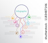 vector infographic templates... | Shutterstock .eps vector #1183487146