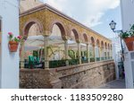 plaza del parterre in the town... | Shutterstock . vector #1183509280