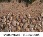 stony road. decorative... | Shutterstock . vector #1183523086