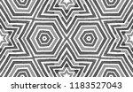 black and white geometric... | Shutterstock . vector #1183527043