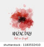 Remembrance Day Symbol. Anzac...