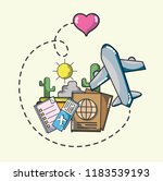 travel and vacations   Shutterstock .eps vector #1183539193